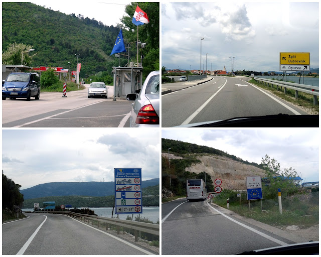 Border Crossings between Bosnia Herzegovina and Croatia