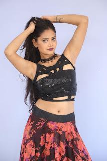 Shriya Vyas in a Tight Backless Sleeveless Crop top and Skirt 73.JPG