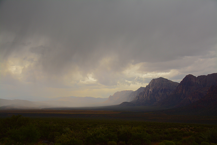 Storm clouds; Hiking; Red Rock Canyon | My Darling Days