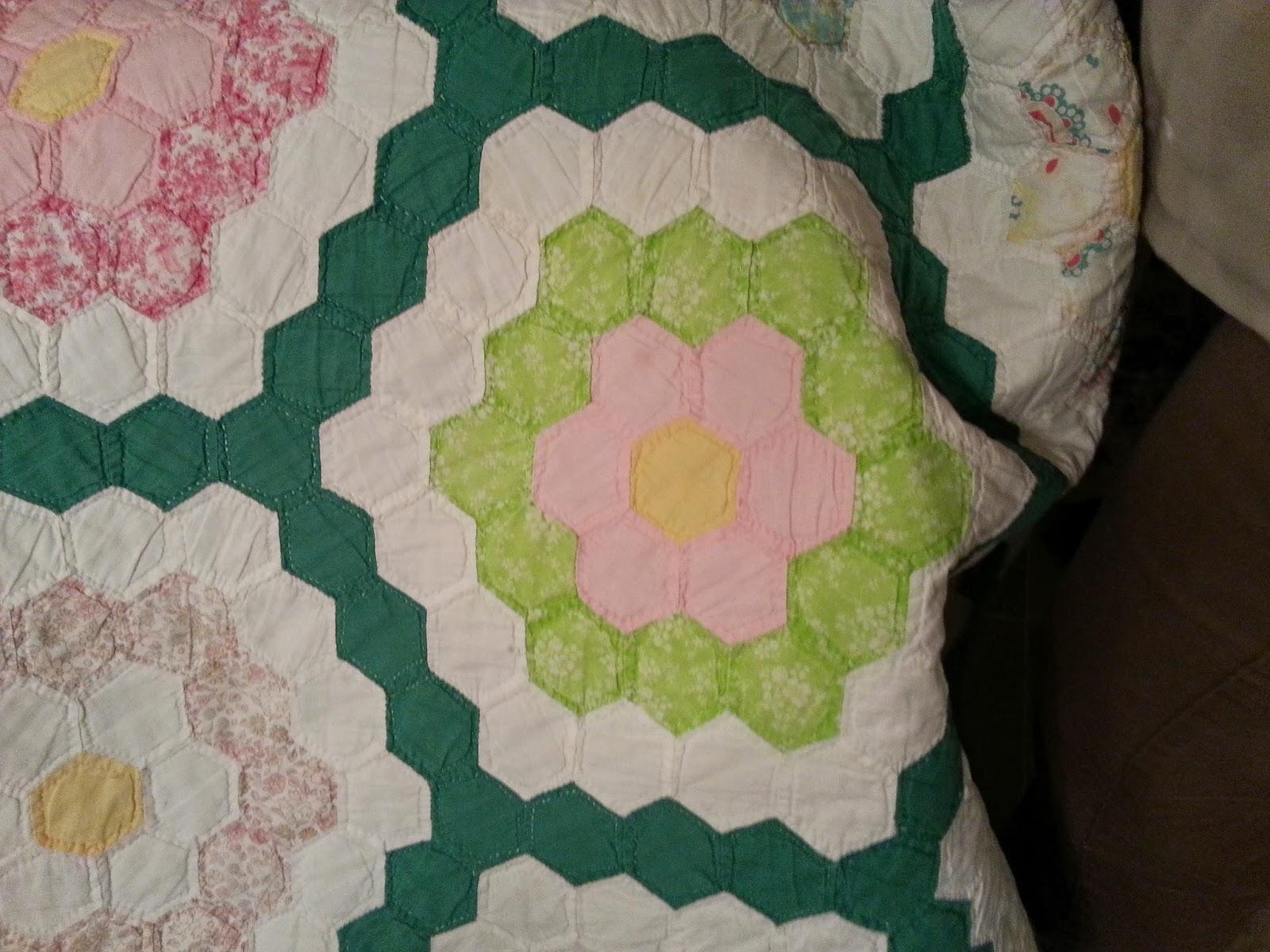 Bentley Barn Quilts Grandmother S Flower Garden
