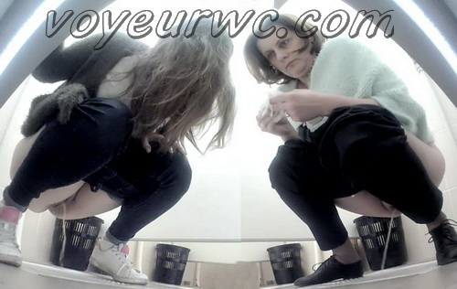 PissWC 238 (Voyeur videos of female students in the toilet)
