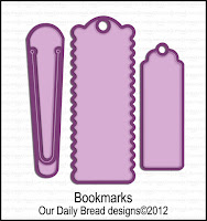 Our Daily Bread designs Custom Bookmarks Dies