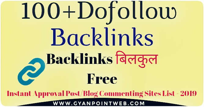 100 Do follow backlink - instant approval - increase website