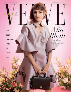 Alia Bhatt looks Blond on Cover Page of Verve Magazine October 2016