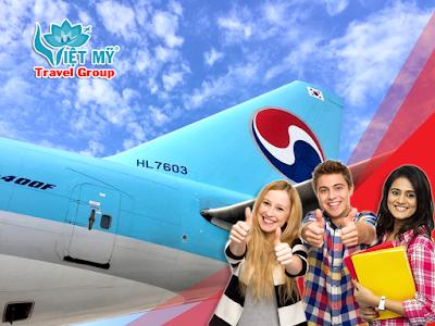 Ưu đãi đặc biệt đi du học - định cư của Korean Air