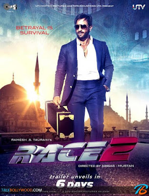 Race 2 2013 Hindi 720p BluRay ESubs 1GB