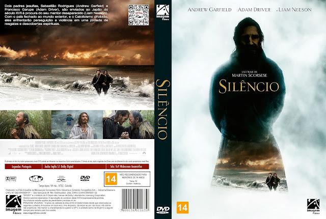 Capa DVD Silêncio [Custom]