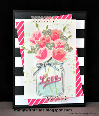 Tuesday Tutorial 79, Stamp with Trude, Jars of Love, Stampin' Up!, #stampinup, valentine