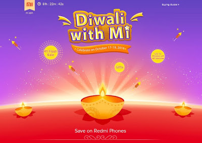 Xiaomi Diwali Sale Offers Discounts on Redmi Phones, Re 1 Flash Sale