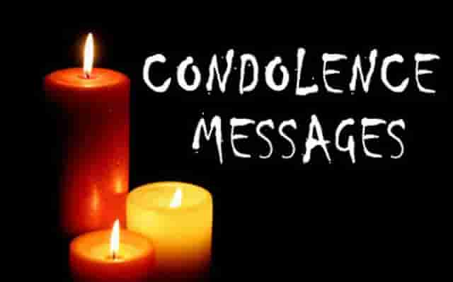 Condolence Text Messages