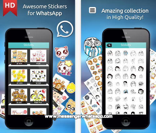 Nuevos emoticones con Great Stickers for WhatsApp