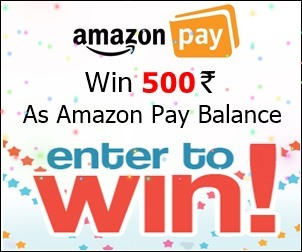 win 500 rupees as amazon pay balance