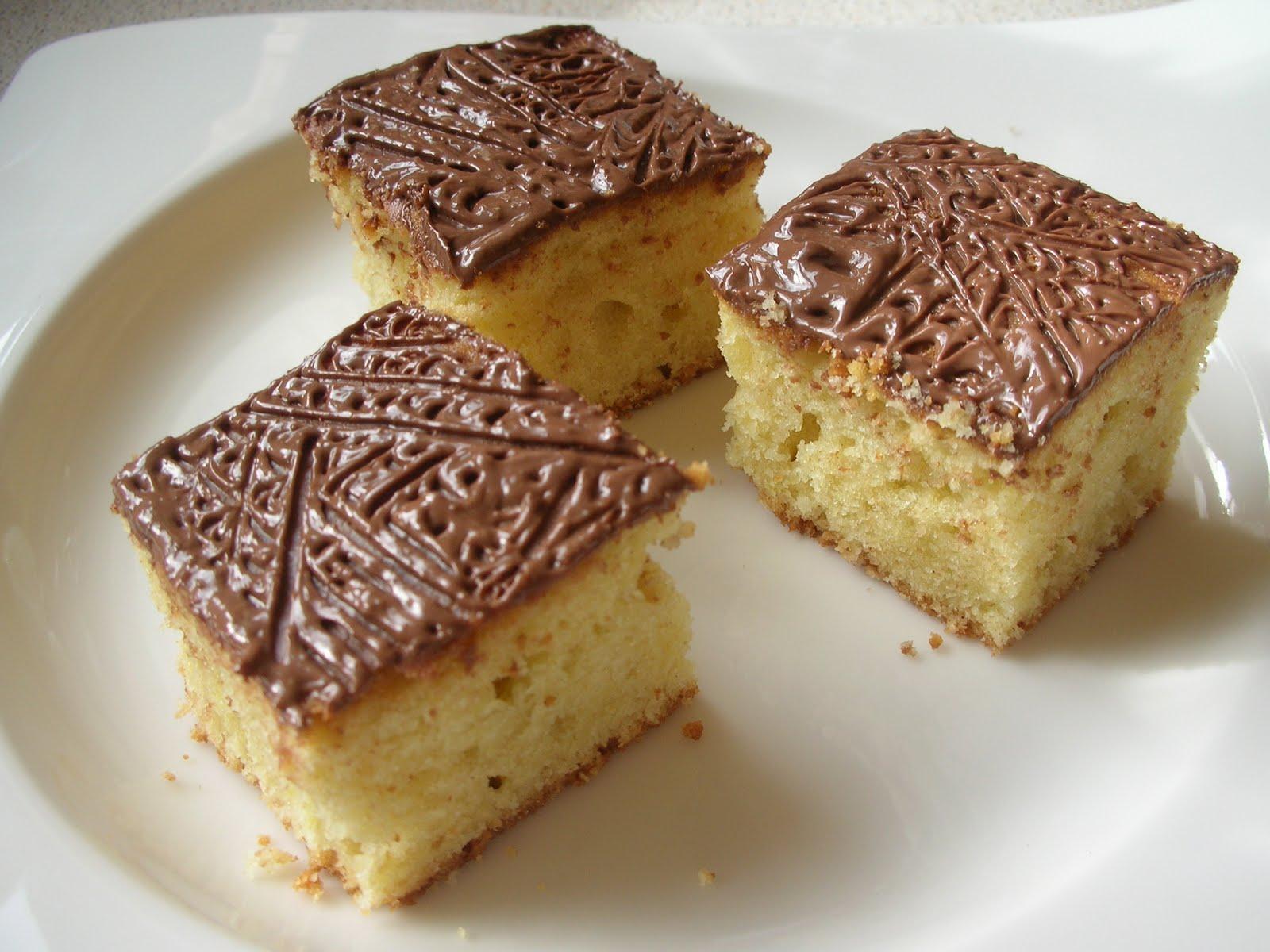 Sponge Cake With A Twist