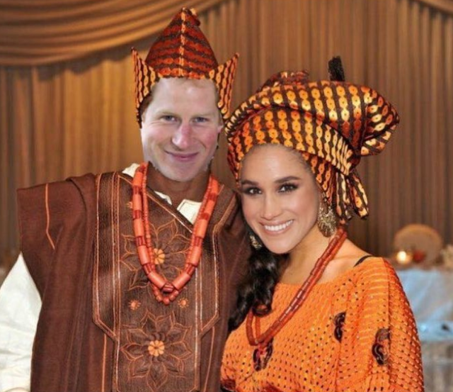 Photo from Prince Harry and Meghan Markle