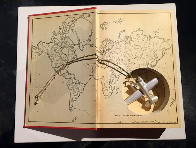 Sondra Sherman Book Art Found Objects