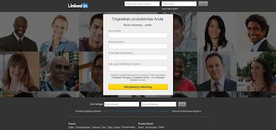 salah satu situs jejaring sosial yang juga terkenal dikalangan pengguna internet yakni Li Cara Membuat Akun LinkedIn Terbaru
