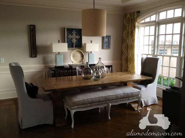 Alamode: Wingback Dining Chairs- The Mate Arrived