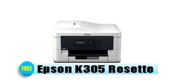 Epson K305 Adjustment Program