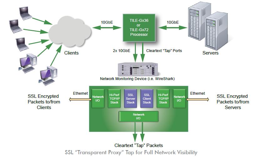 Broadband Traffic Management: EZchip - New 20 Gbps SSL Proxy