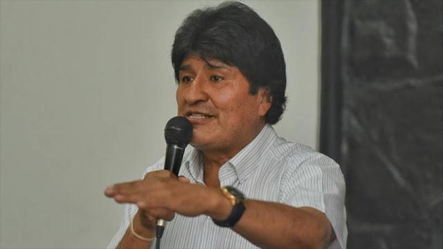 Morales: Trump busca 'dominar' Venezuela con bloqueo financiero