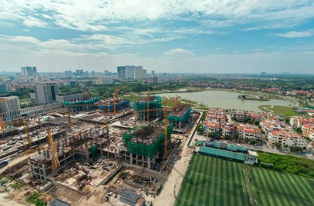 Toàn cảnh thi công xây dựng dự án An Bình City