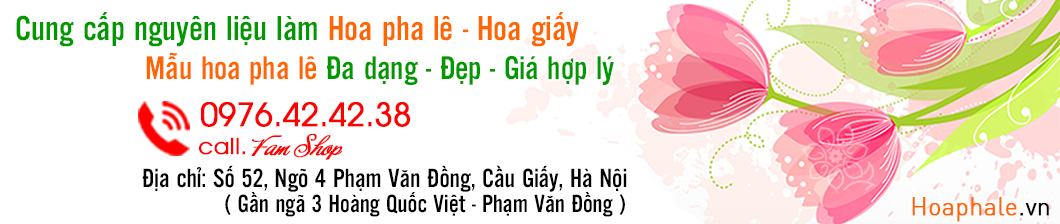 Hoa đá pha lê