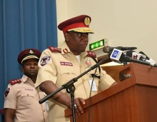 BREAKING: FG Permits FRSC Officers To Use Firearms On Nigerians