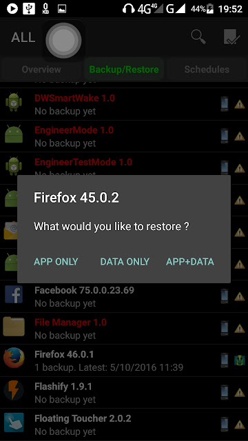 Titanium Backup: How to Backup Games and Apps (APK files) on your Tablet/Smartphone?