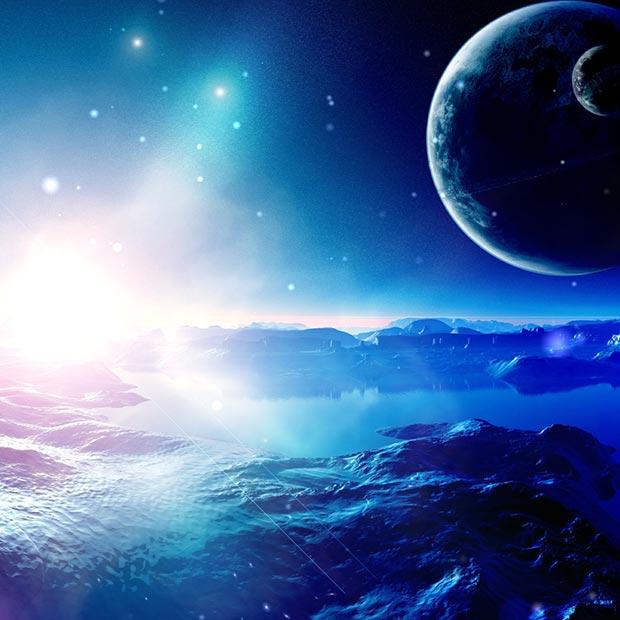 Azure Planet Wallpaper Engine