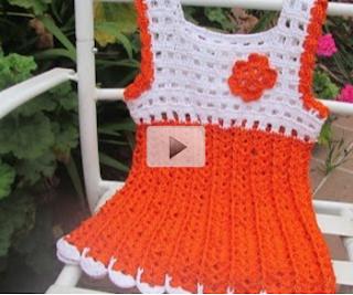 Mi Rincón Del Tejido Tutorial Vestido Crochet