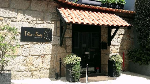 fachada do restaurante Pedro Lemos