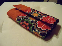unique custom made wallet leather and cotton | http://panpancrafts.blogspot.de/