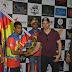 बॉक्स - जीशान सिद्दीकी के नेतृत्व में आयोजित क्रिकेट लीग में अभिनेता सूरज पंचोली और गौतम गुलाटी ने किया टॉस