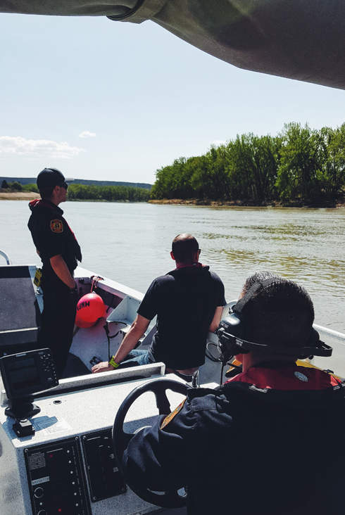 South Saskatchewan River Safety Medicine Hat Alberta