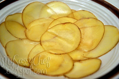 Homemade Salt and Pepper Potato Chips