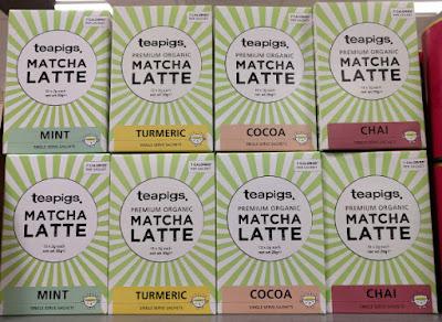 Teapigs Matcha Latte mint turmeric cocoa chai