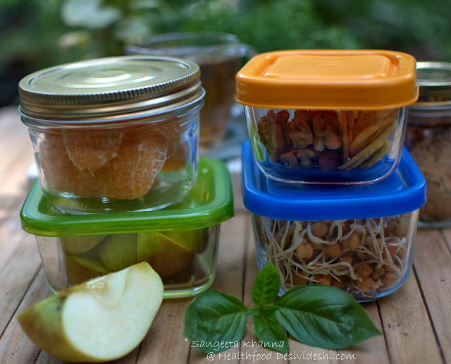 How to organise snacks for the day