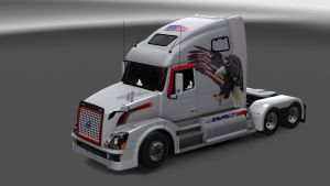 USA Eagle Skin for Volvo VNL 670