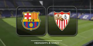 مشاهدة مباراة إشبيلية وبرشلونة بث مباشر 31-3-2018 الدوري الاسباني الممتاز اون لاين