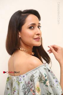Actress Pragya Jaiswal Stills in Floral Dress at turodu Interview  0069.JPG