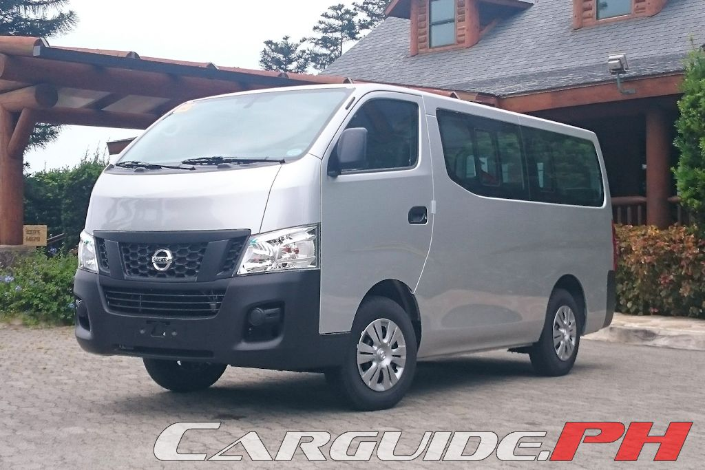 First Drive 2015 Nissan Nv350 Urvan Carguide Ph