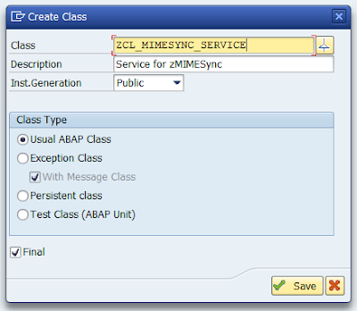 Creating a Class Handler for SICF Service (with code example)