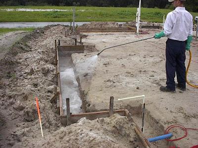 Phòng chống mối công trình xây dựng mới