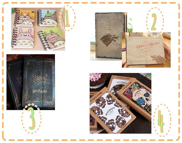 cuadernos libretas aliexpress