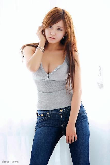 Foto Seksi Model Cantik Korea Kim Shi Hyang   Galeri Foto