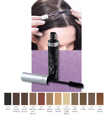 Masc-a-gray-mascara, to cover your gray hairs, by Barbie's Beauty Bits