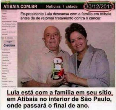 Sítio em Atibaia é tratado como propriedade de Lula desde 2011