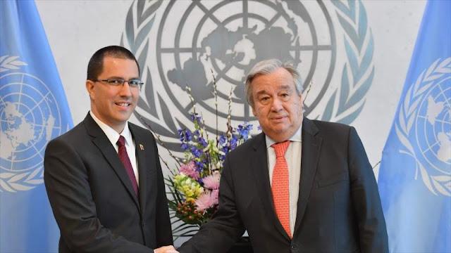"""ONU, preocupada ante politización de """"ayuda"""" de EEUU a Venezuela"""