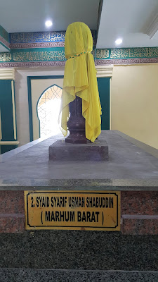 Makam Sayyid Usman Syahabuddin (Marhum Barat)
