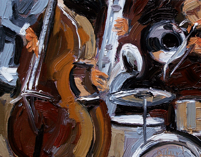 Abstract Art Musical Instruments